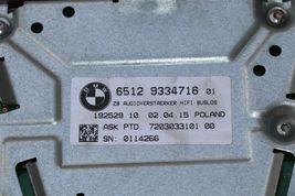 Bmw F30 AMP ZB System Audio Radio Stereo Speaker Amplifier 6512-9334716 image 6