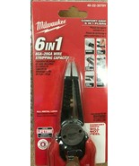 Milwaukee - 48-22-3079 - 7.75 in. Combination Electricians 6-in-1 Wire S... - $34.60
