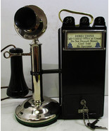 Western Electric Nickel Candlestick with Gray Pay Station - $1,595.00