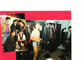 Joey Mcintyre teen magazine pinup clipping underwear shirtless New Kids Bop