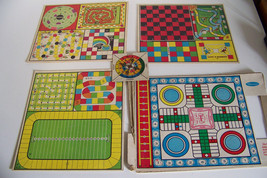 30 vintage Games and a spinner from 56 games by Whitman - $12.32