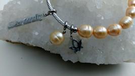Fresh Water Pearl Stretch Serenity Bracelet image 2