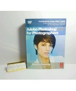 Adobe Photoshop for Photographers Sealed DVD Included Focal Press Martin... - $39.15