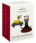 Hallmark  Scary Teddy Undead Duck Nightmare Before Christmas  Keepsake O... - $29.12
