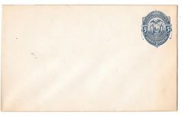 Ecuador Postal Stationery Entire Envelope 5c Coat of Arms Condor 1880s U... - $4.99