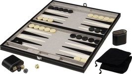 Backgammon Board Game Set Family Game Fun Dices Travel Playing Set 18 i... - $68.91
