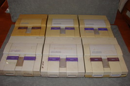 Lot of 6 Super Nintendo SNES Systems Consoles ONLY [FOR PARTS OR REPAIR] - $100.00