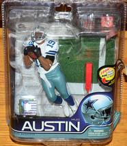 McFarlane NFL 2011 Dallas Cowboys Miles Austin White Jersey Series 27 - $18.37