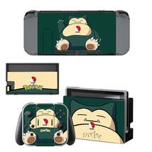 Snorlax Pokemon Anime   Nintendo Switch Skin for Nintendo Switch Console  - $19.00