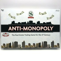 Anti-Monopoly Board Game New Sealed University Games Ages 8+ Real Estate... - $55.15