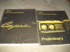1973 Ford Mercury Capri Service Atelier Réparation Manuel Set W Prélimin... - $47.53