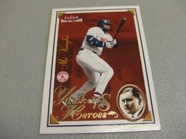2001 Fleer Boston Red Sox 100th Mo Vaughn Yawkey's Heroes - $3.12