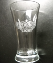 Heineken Premium Light Shot Glass Miniature Beer Glass Etched Heineken Logo - $7.99