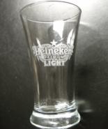 Heineken Premium Light Shot Glass Miniature Beer Glass Etched Heineken Logo - $7.99