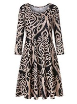 Luranee Zulily Dresses for Women, Misses Cute Comfy House Dress 3/4 Slee... - $29.80