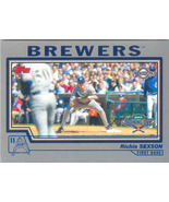 Richie Sexson ~ 2004 Topps Opening Day #16 ~ Brewers - $0.20