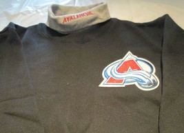 Colorado Avalanche Youth Sweat Shirt XL Turtleneck  NHL Majestic Brand 5... - $9.99