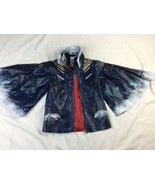 Disney Descendants Evie Cape Costume Jacket Size Small 4-6 Zip Up Faux L... - $18.69