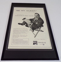Pat O'Brien 1955 NBC Radio Framed 11x17 ORIGINAL Vintage Advertising Poster - $65.09