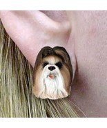 Conversation Concepts Shih Tzu Tan Earrings Post - $14.36