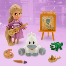 Disney Store Rapunzel Mini Doll Play Set 5'' Animators Collection  - $49.95
