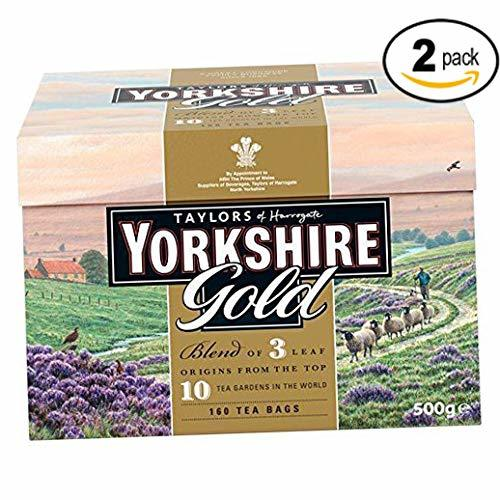 Available From Your Harrogate: Taylors Of Harrogate Yorkshire Gold, 160 Teabags 2 Pack