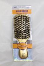 Annie Soft Club Brush Gold 100% Pure Boar Bristles #2084 - $4.60
