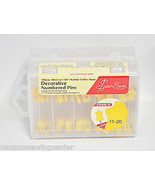 Sew Easy Yellow Numbered Pins - $48.82