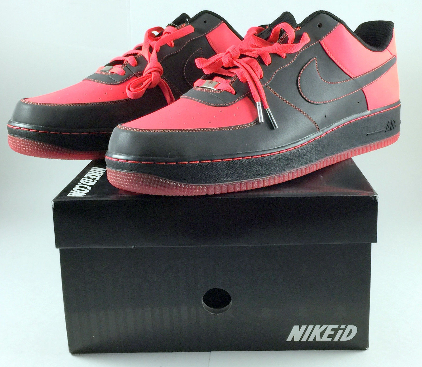 f8fa74113f Men's Size 17 NikeiD Air Force 1 Reflective and 50 similar items. S l1600