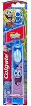 Colgate Sponge Bob Patrick Electric Powered Extra Soft Toothbrush w/Batt... - $8.09