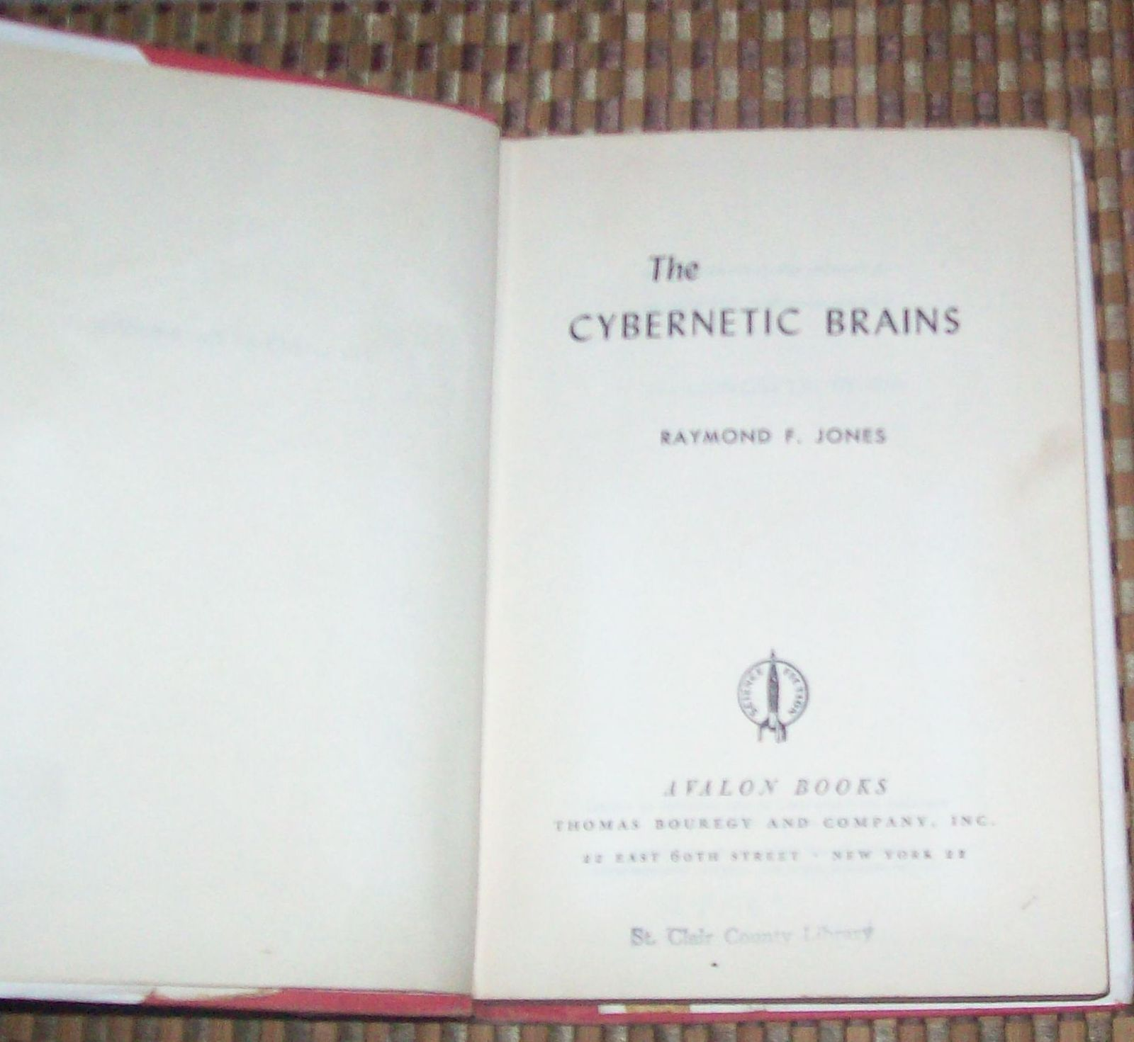 The Cybernetic Brains by Raymond F. Jones 1962 HBDJ