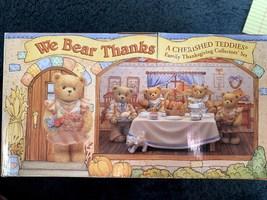 "Cherished Teddies' We Bear Thanks ""A Cherished Teddies Family Thanksgiving""  - $100.00"