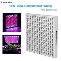 Excelvan 14W 225 SMD LED Plant Grow Light & Lighting Panel for Plant Flo... - $40.48