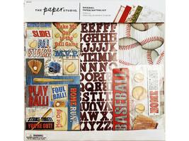 The Paper Studio Baseball Papercrafting Kit #331223 Scrapbooking/Card Making