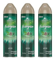 Glade Air Freshener Spray - Limited Edition - ICY Evergreen Forest - Net Wt. 8 O