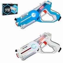 JOYMOR Laser Tag Guns Set of 2 Tag Blasters ,Multiplayer Mode,Best Toy f... - $24.01