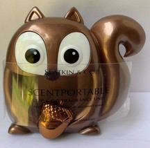 Bath And Body Works Clip And Go SQUIRREL Scentportable Holder Fragrance Unit New - $14.80