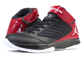 Nike 848786 Air Jordan BCT Mid 3 Men's Black Red Basketball Shoes Sneakers 11.5 - $71.99