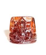 Lord Ganesha In Gomed / Gomed Ganesha - $60.00