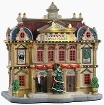 Lemax Grand Opera House #95467 Bnib Porcelain Lighted Building - $72.22