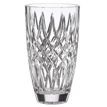 "Lenox Irish Spring Mackenna Crystal Vase Hand Cut Diamond 10"" Ireland Gi... - $148.50"