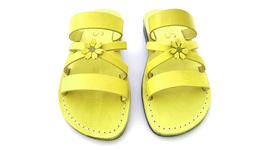 Leather Sandals for Women IRIS by SANDALIM Biblical Greek Roman Sandals - $39.83 CAD+
