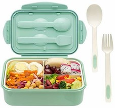 Bento Boxes for Adults, For Kids Spoon & Fork - Leak-Proof, Food-Safe Ma... - $38.86