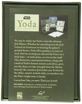 Star Wars Yoda: Bring You Wisdom, I Will. Figurine, Cards Inspirational Booklet image 2