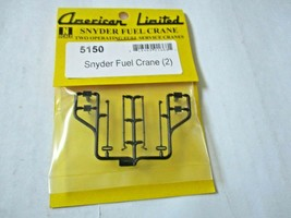 American Limited # 5150  Snyder Fuel Crane 2 Pack N-Scale image 1