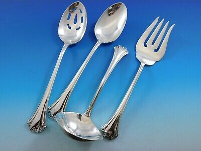 Primary image for English Chippendale by Reed & Barton Sterling Silver Essential Serving Set Large