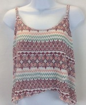 Express Multi-color High Low Top Cami Size Large - $16.83