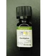 Aura Cacia Organic Eucalyptus (Radiata) Essential Oil 0.25 fl. oz. - $9.10