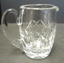 Waterford Crystal Creamer - Patrick Pattern - $23.74