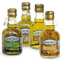 Grand'aroma Tuscan HerbsGarlic Basil Truffle Flavored Extra Virgin Olive Oil ... - $32.46